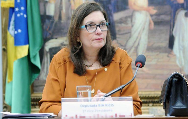 A deputada Bia Kicis (PSL-DF)
