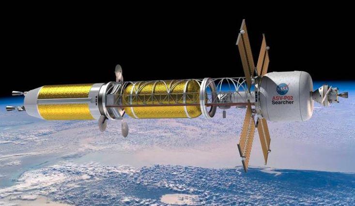 A ideia de motores de foguetes nucleares remonta aos anos 1940, mas a tecnologia só foi revisitada recentemente como uma solução para a exploração do espaço profundo