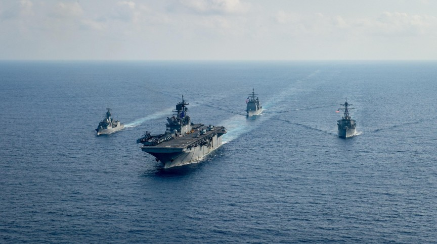 Navios das Marinhas dos EUA
