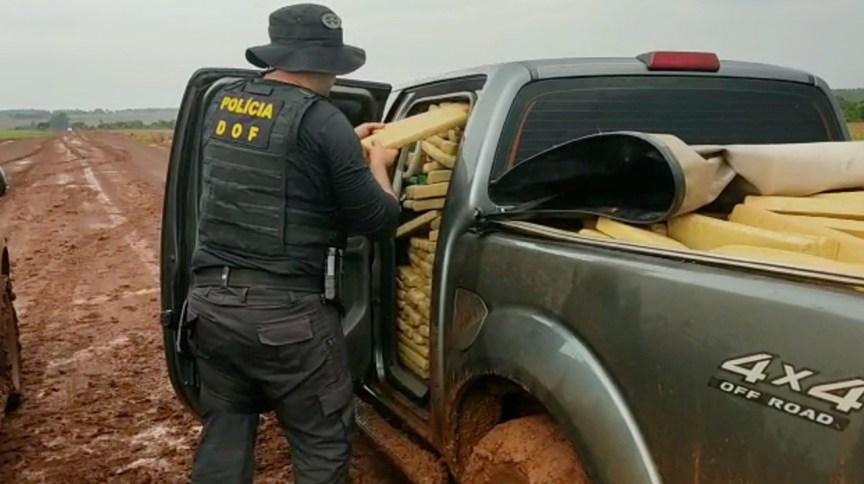 Fronteira do Brasil com Paraguai é responsável pela apreensão de quase 700 toneladas de drogas só no ano de 2020