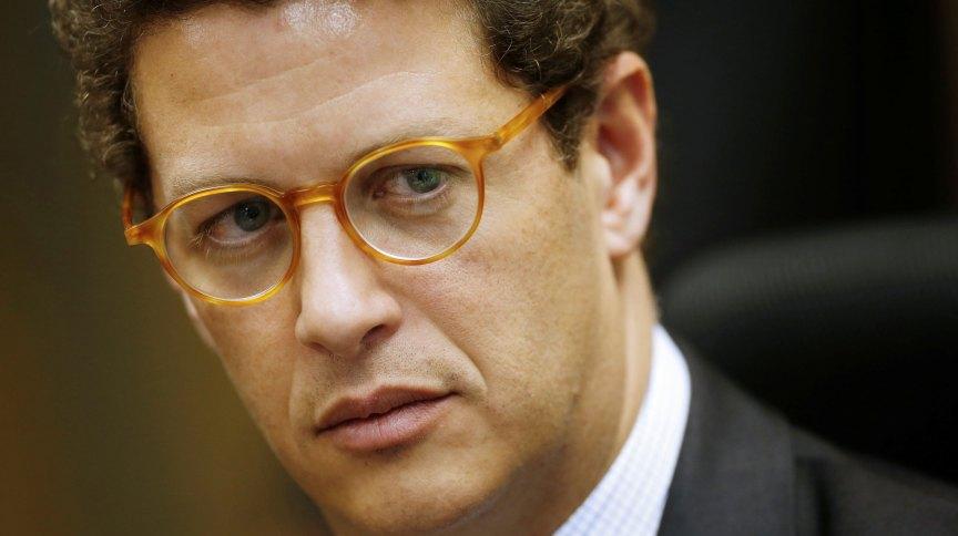 O ministro do Meio Ambiente, Ricardo Salles: criação de gado na região poderia conter parte do fogo