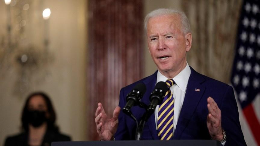 O presidente dos Estados Unidos, Joe Biden, busca implementar pacote de US$ 1,9 trilhão