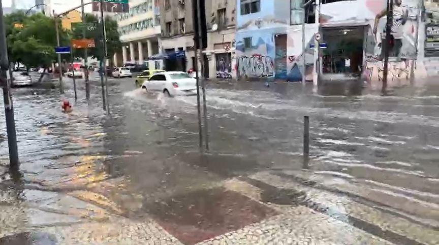 Chuva no Rio de Janeiro - 05/02/2021