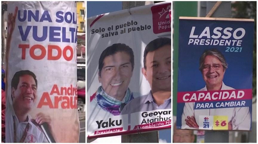Equatorianos escolhem novo presidente em busca de saída para crise econômica