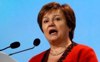 Segundo o FMI, a diretora-gerente do FMI, Kristalina Georgieva, em seu cargo anterior no Banco Mundial pressionou funcionários da instituição a alterar dados para favorecer a China