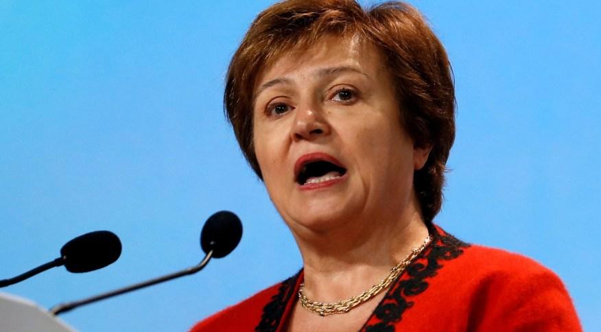 A diretora-gerente do FMI, Kristalina Georgieva