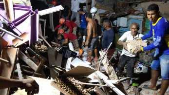 Secretaria suspeita que botijão de gás tenha sido origem da explosão