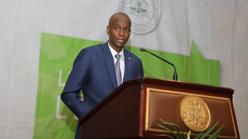 Jovenel Moïse, presidente do Haiti
