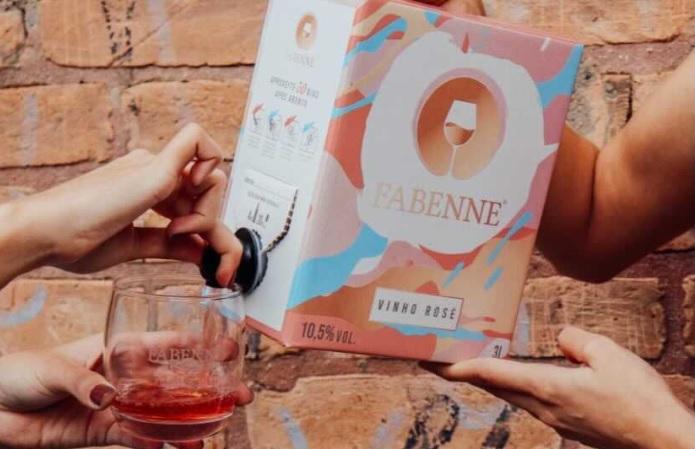 Fabenne, marca paulistana que vende vinhos em caixinha, precisou mudar seu público-alvo durante a pandemia
