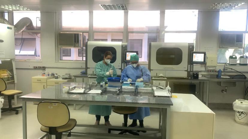 Laboratório Central de Saúde Pública do DF ampliou capacidade de processamento de testes da COVID-19