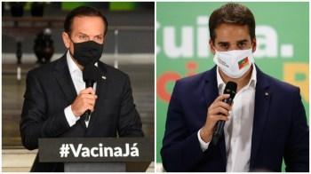 O tucano rechaçou qualquer animosidade com João Doria e ressaltou os esforços do governador para obter vacinas contra a Covid-19