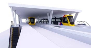 Proposta de linha de 17 quilômetros de extensão e sete estações depende de acordo com a União