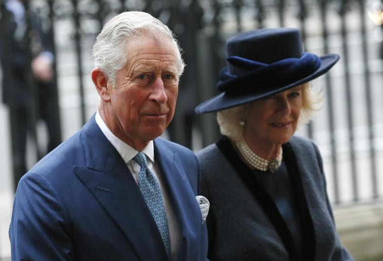 Príncipe Charles e Camilla, a Duquesa da Cornualha em 09/03/2015