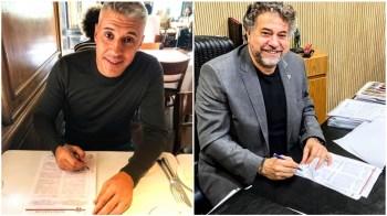 Clube confirmou contratação do argentino que chega para substituir Fernando Diniz, demitido há uma semana