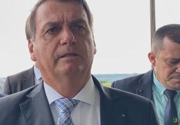 Bolsonaro voltou a dizer que não interferiu na estatal e nem mandou baixar o preço dos combustíveis