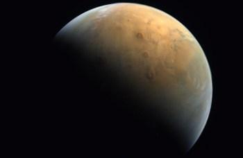 A Hope Probe chegou ao planeta vermelho na terça-feira (9)