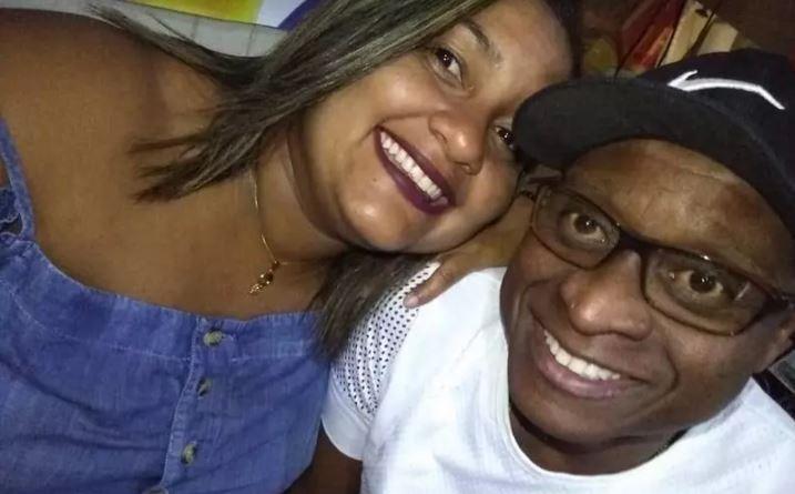 Evaldo e Luciana, em foto de arquivo pessoal