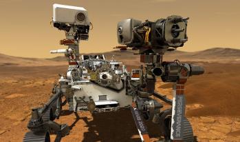 Local fotografado pelo rover atrai o interesse de cientistas pela possibilidade de ter abrigado vida no passado do planeta vermelho