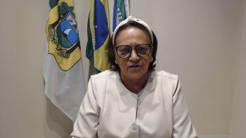 Fátima Bezerra disse quais medidas foram tomadas depois de milhares de pessoas desrespeitarem regras de distanciamento no fim de semana