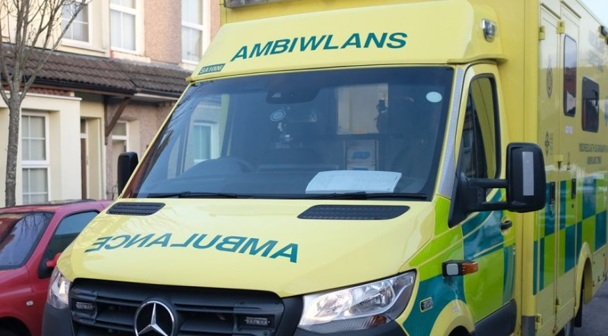 Veículo da Welsh Ambulance Services NHS Trust