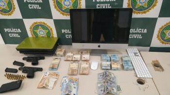 Gustavo Cabral, delegado que investiga o show realizado por Belo no RJ, falou à imprensa sobre as investigações do caso