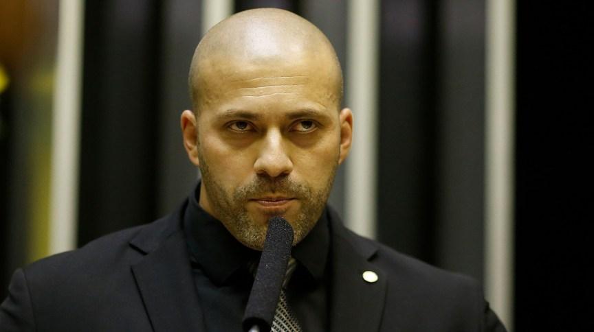 A prisão em flagrante do deputado foi determinada por Moraes em fevereiro