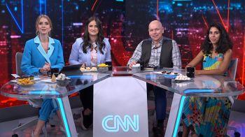 CNN Tonight, talk show apresentado por Mari Palma, Gabriela Prioli e Leandro Karnal, discute o que é comer bem. O papo é com Bela Gil, que é culinarista