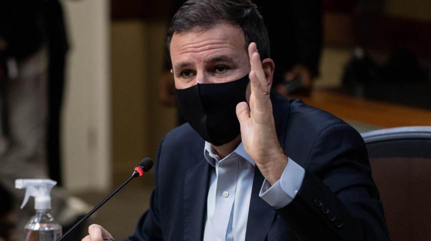 O prefeito do Rio de Janeiro Eduardo Paes (PSD)