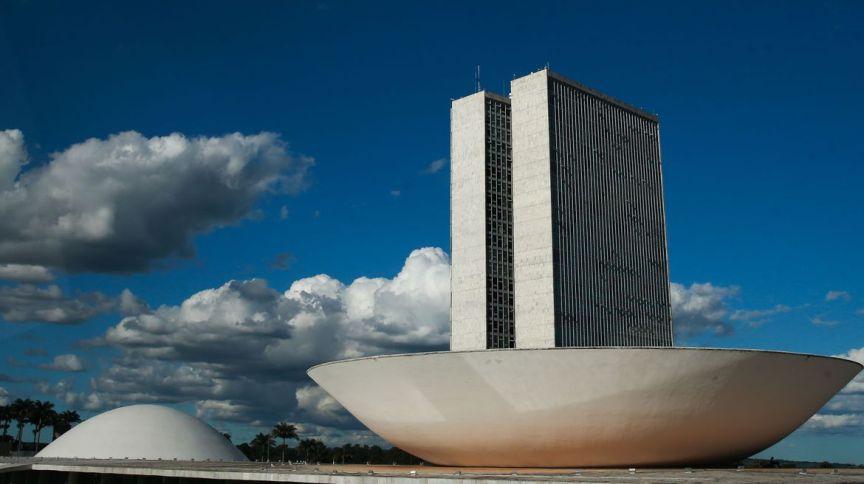Congresso Nacional, em Brasília (08.abr.2020)