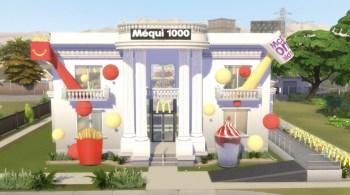 Uma réplica do Méqui 1000 está dentro do novo mapa de Minecraft e do The Sims 4