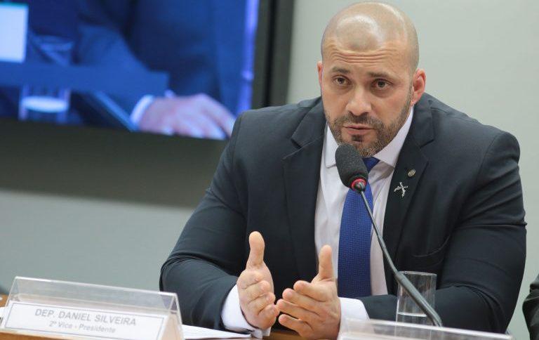 O deputado Daniel Silveira