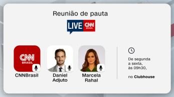 A partir de agora, Daniel Adjuto e Marcela Rahal entram ao vivo de segunda a sexta, sempre às 9h30, para ouvir opiniões e sugestões dos usuários