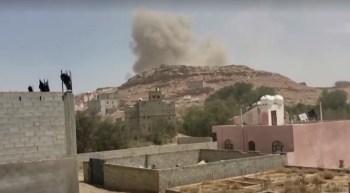 A investida foi feita após o grupo Houthi enviar drones armados para atacar a Arábia Saudita