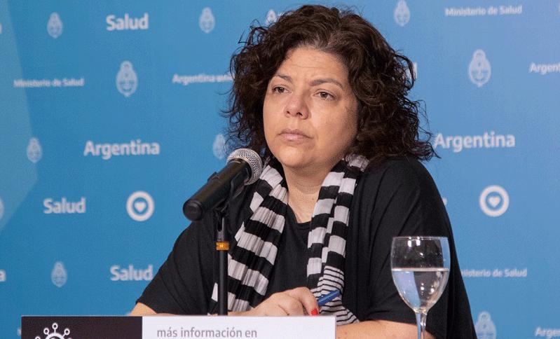 A nova ministra da Saúde da Argentina, Carla Vizzotti