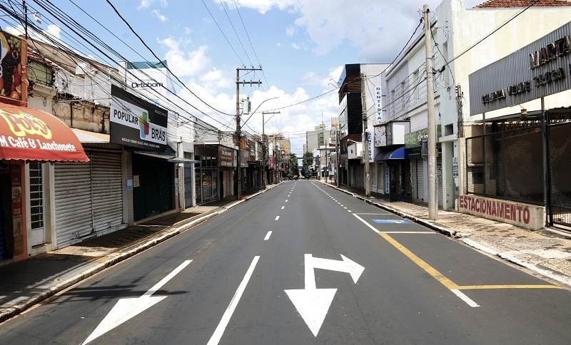 Lockdown na cidade de Araraquara devido ao colapso do sistema de saúde