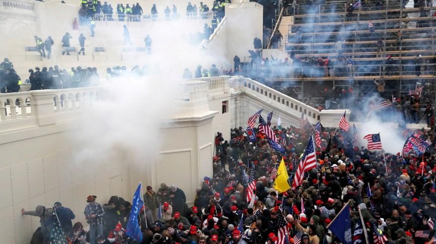 Capitólio dos Estados Unidos foi atacado no dia 6 de janeiro de 2021