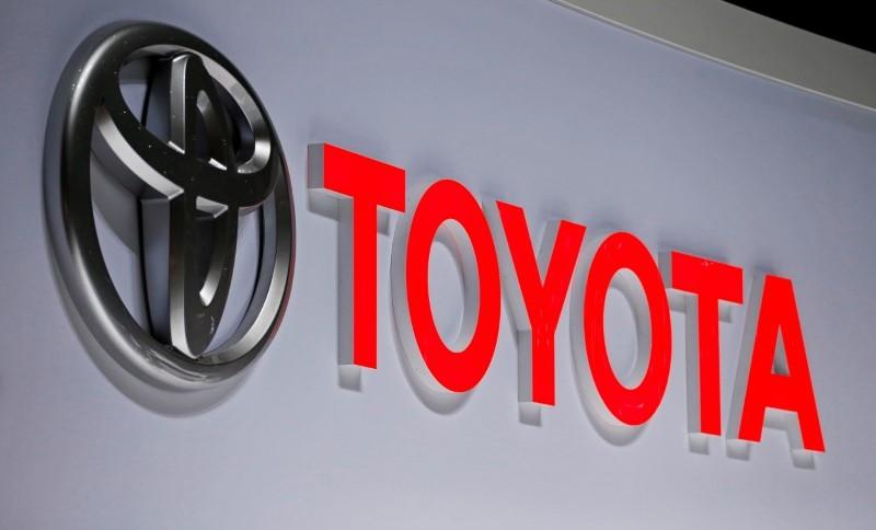 A logomarca da montadora japonesa Toyota (05.mar.2019)