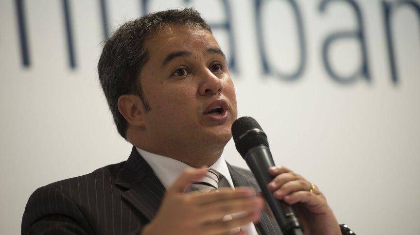 O deputado Efraim Filho, líder do DEM na Câmara