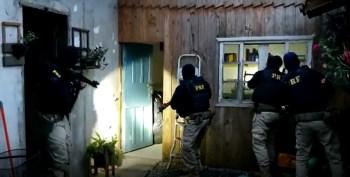 Polícias de seis estados estão reunidas cumprindo mais de duzentos mandatos