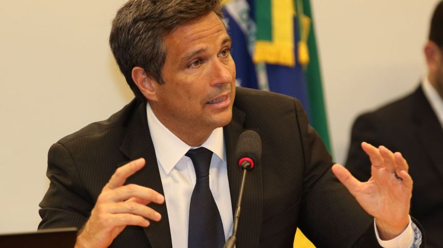 Presidente do Banco Central, Roberto Campos Neto:as LFTs fecharam setembro com a primeira queda mensal no preço em 18 anos; até o momento, o recuo de outubro é de 0,43%