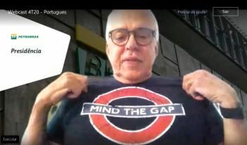 Roberto Castello Branco afirma que 'mind the gap', expressão que significa 'cuidado com o buraco', é slogan interno e não indireta ao governo Bolsonaro