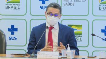 """Carlos Lula disse que lamenta a postura de Queiroga sobre vacinação de adolescentes, e que a atitude do ministério vai na """"contramão de tudo que é o SUS"""