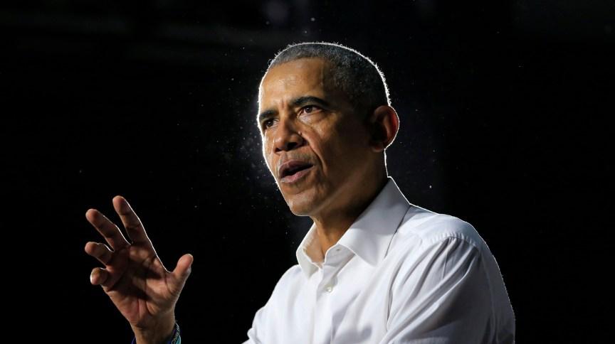 O ex-presidente dos EUA Barack Obama: 'O maior erro que qualquer um de nós pode fazer nesta situação é o de desinformar'