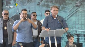 Em evento no Ceará, presidente falou sobre medidas restritivas adotadas em estados brasileiros contra pandemia