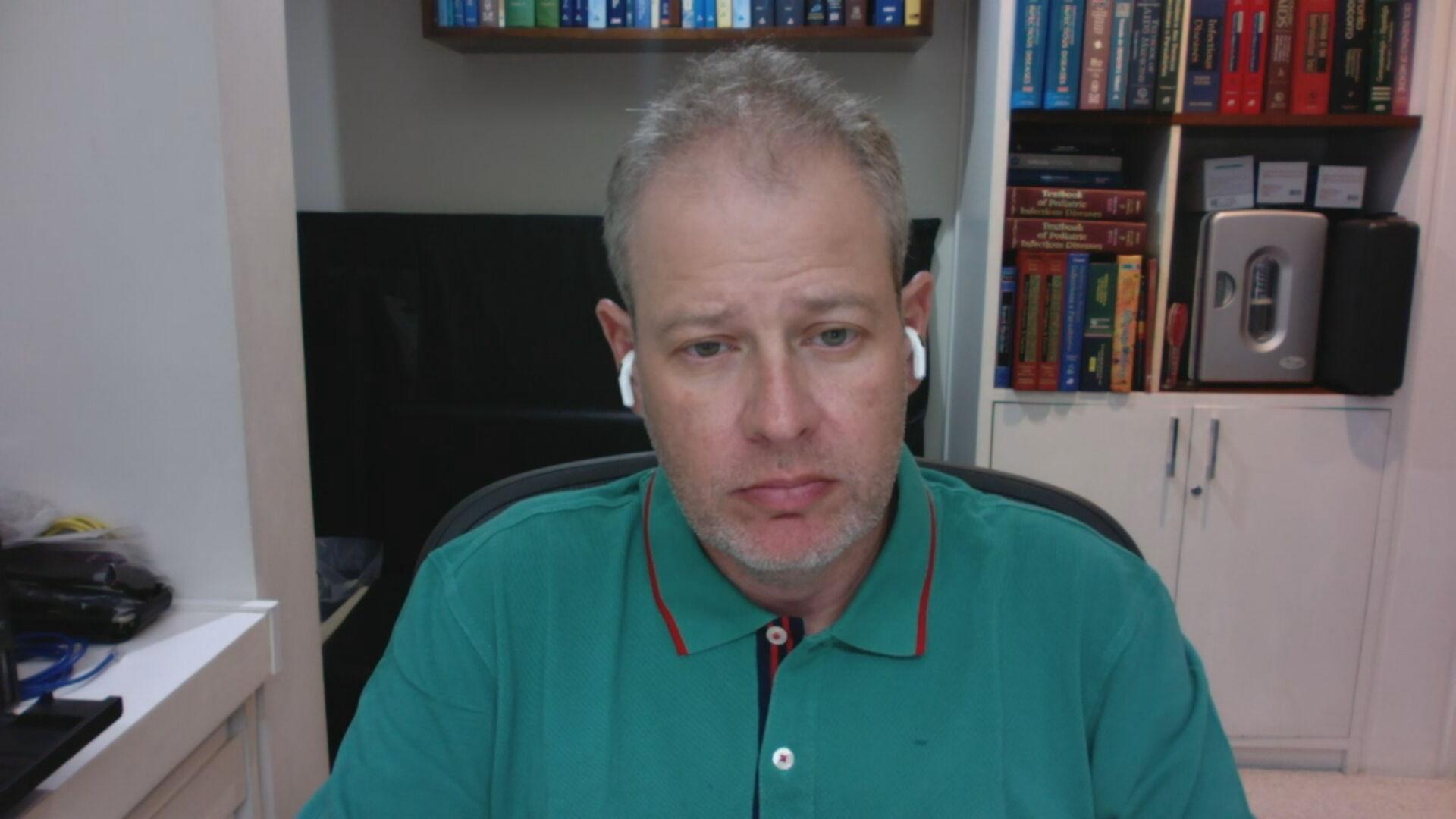 O infectologista Sergio Cimerman (01.mar.2021)
