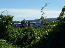 Os tripulantes do avião não tiveram ferimentos e os imunizantes ficaram intactos