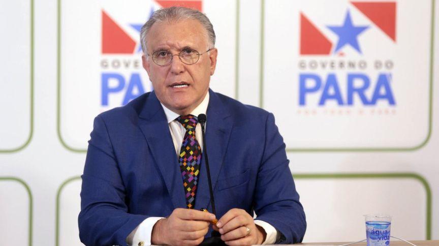 O secretário de Saúde do Pará, Alberto Beltrame