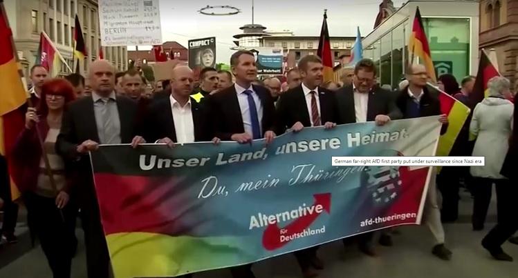 Membros do partido Alternativa para a Alemanha