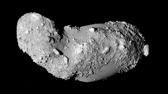 Grão foi encontrado no asteroide, chamado de Itokawa