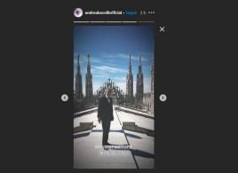 Tenor italiano se apresenta no Duomo di Milano, esvaziado por conta do coronavírus. Show pode ser acompanhado pelo Youtube e terá cobertura da CNN Brasil